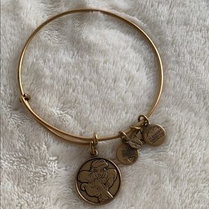 Alex and Ani Gold Little Mermaid Ariel Bracelet